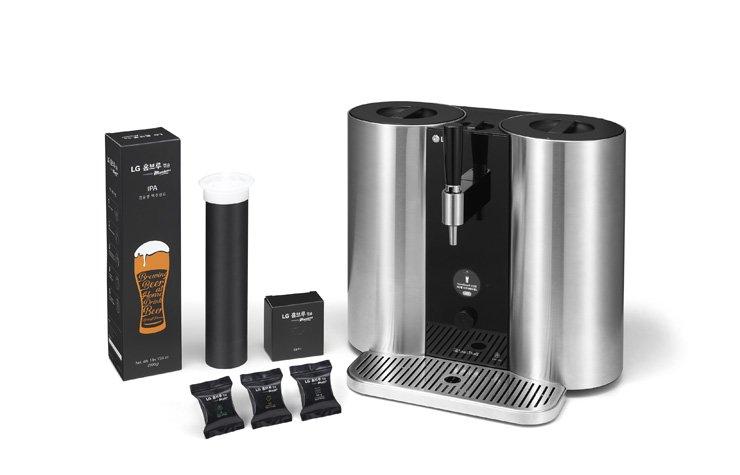 LG develops capsule beer brewing machine