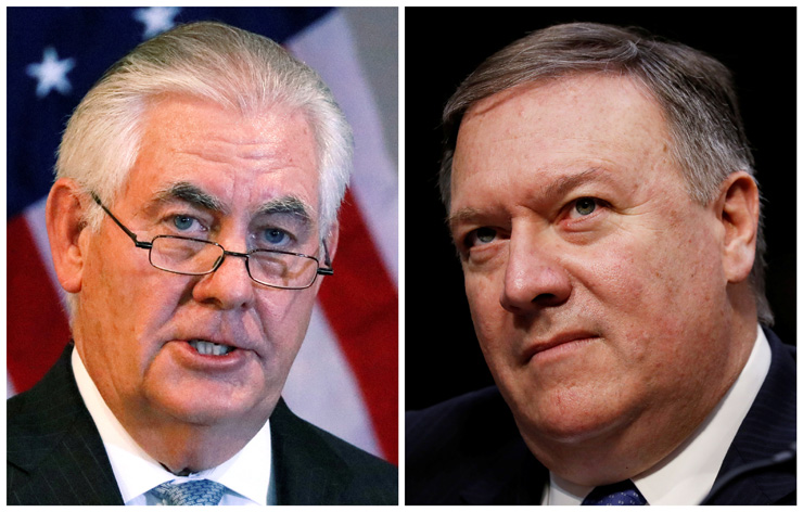 Trump fires Tillerson as US secretary of state
