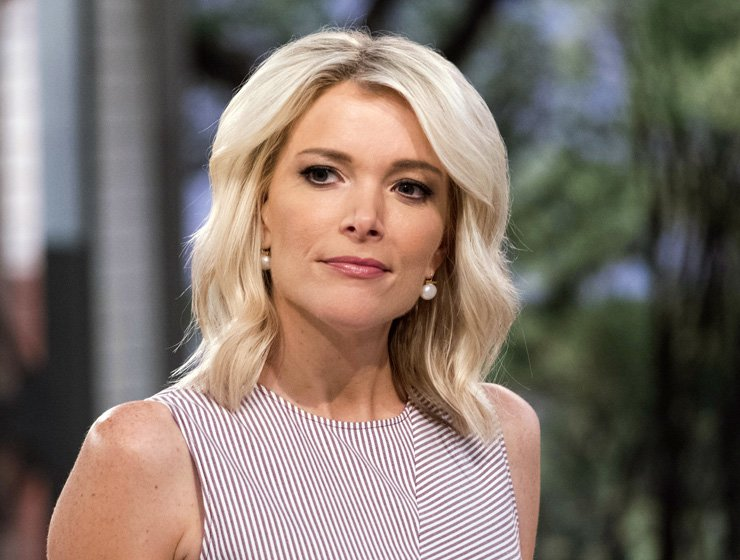 This Sept. 21, 2017, file photo shows Megyn Kelly on the set of her show, 'Megyn Kelly Today' at NBC Studios in New York. NBC announced on Friday, Oct. 26, 2018, that 'Megyn Kelly Today' will not return. AP
