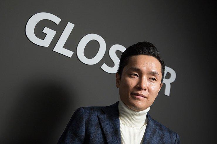 Glosfer founder and CEO Kim Tae-won / Korea Times photo by Choi Won-suk