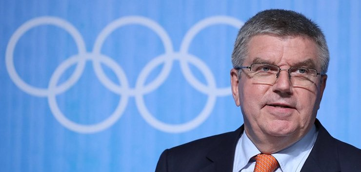 International Olympic Committee President Thomas Bach / Yonhap
