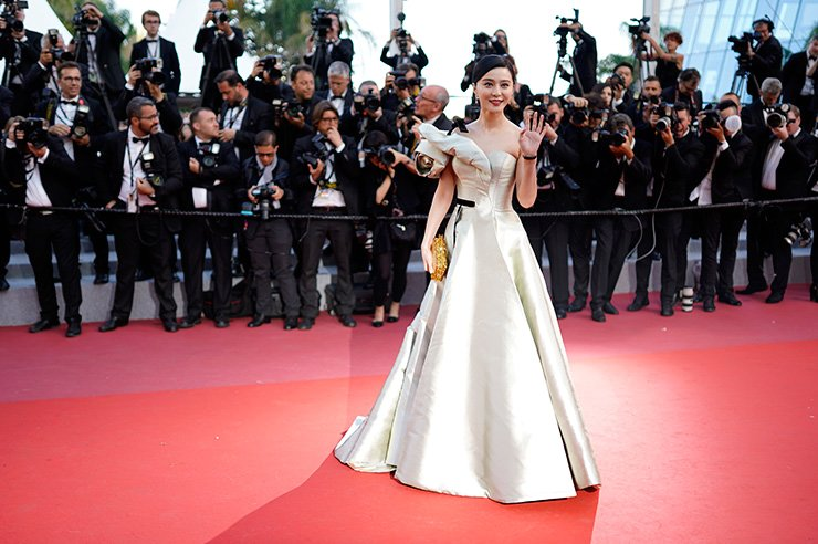 Chinese actress Fan Bingbing arrives for the screening of 'Ash Is Purest White' during the 71st annual Cannes Film Festival in Cannes, France, May 11 2018. EPA
