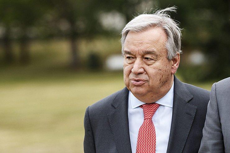U.N. Secretary General Antonio Guterres / AFP