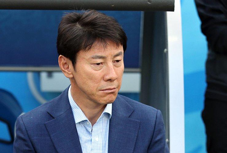 South Korea head coach Shin Tae-yong / Yonhap