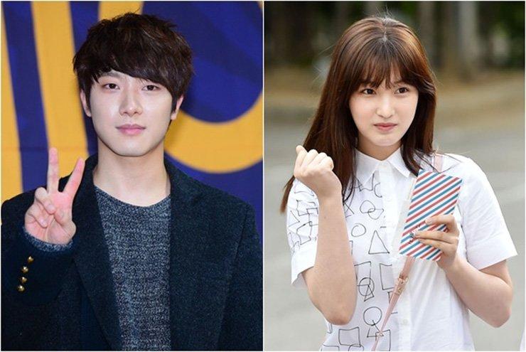 Choi Min-hwan, left, and Yulhee