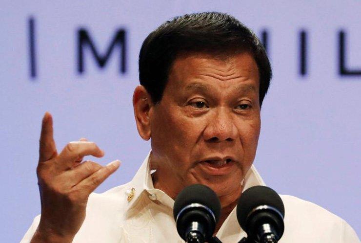 Philippine President Rodrigo Duterte / Reuters