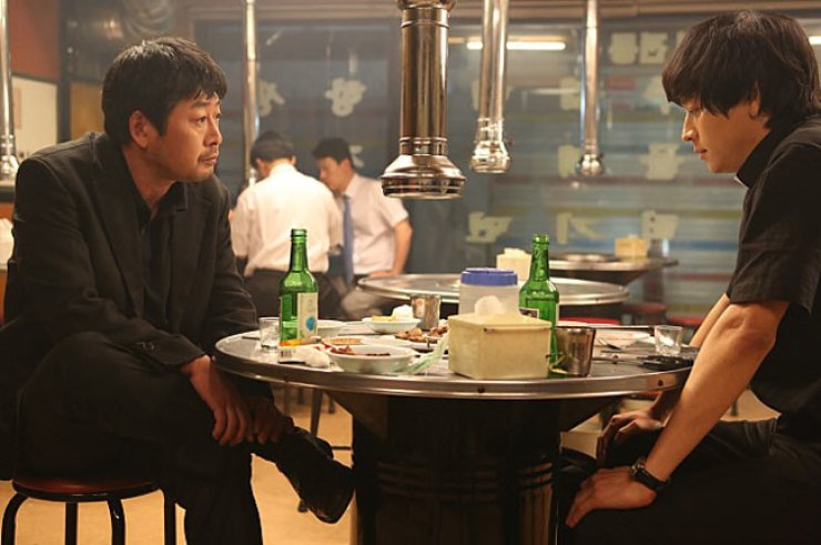 Kim Yun-seok, left, and Gang Dong-won from 'The Priests' / Courtesy of Naver