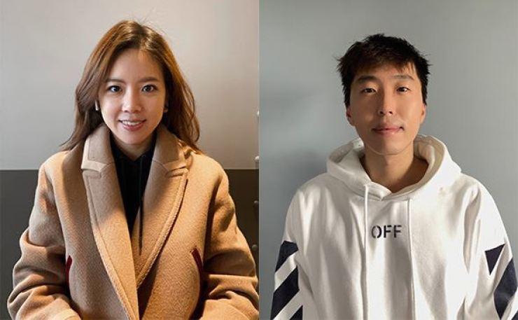 Chyung Eun Ju and Joel Cho