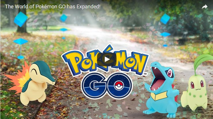 Global hit mobile game Pokemon Go will receive its biggest update later this week. /  Screen captured from YouTube