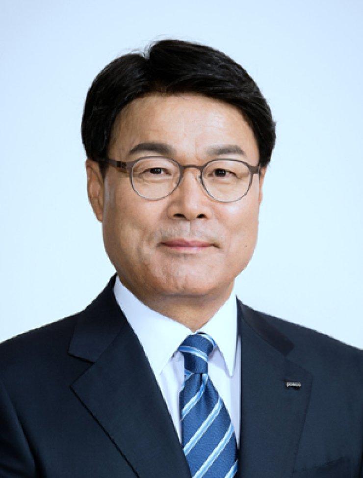 POSCO Chairman Choi Jeong-woo