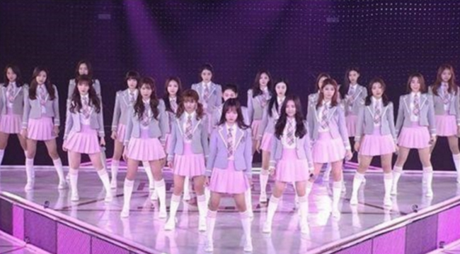 Audition survival music show 'Produce 101' shows 101 trainees from 46 entertainment agencies competing to debut as a member of a project girl group. /Courtesy of CJ E&M