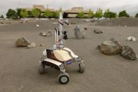 Astronauts remotely control planetary rover from space