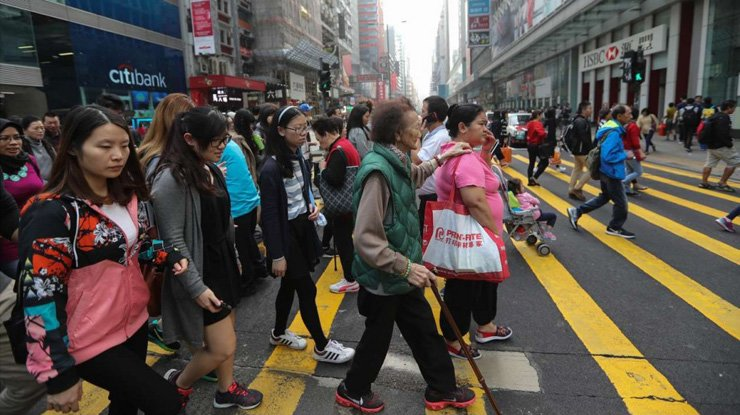 The number of elderly people will grow in Hong Kong in the coming years.