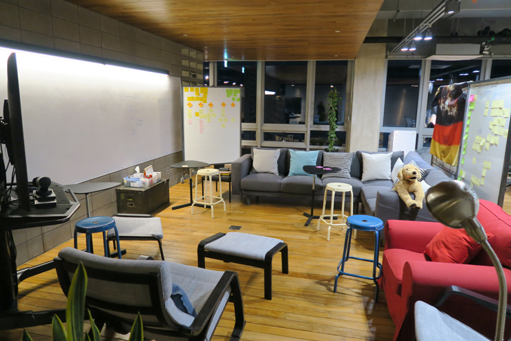 Design & Co-Innovation Center of SAP AppHaus Korea in Bundang, Gyeonggi Province  / Korea Times photo by Yun Suh-young
