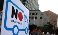 Anti-Japan rally intensifies amid Seoul-Tokyo trade war