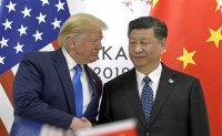 Trump says he discussed North Korea with Xi