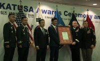 Honorary chairman inducted into KATUSA Hall of Fame