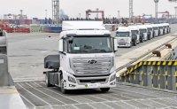Hyundai exports hydrogen trucks to Switzerland