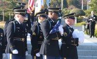 American Korean War veteran buried at UN cemetery in South Korea