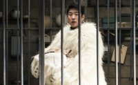 Actor Ahn Jae-hong plays polar bear in film 'Secret Zoo'