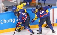 Women's ice hockey team routed again