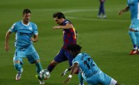 Messi scores as Barcelona tops Leganes in return to Camp Nou