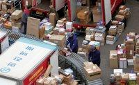 Surge in parcel deliveries