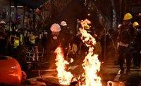 Korean man detained in Hong Kong over anti-gov't protest