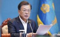 Moon urges speedy push for expanding quarantine system, employment insurance