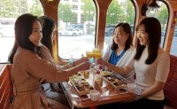 Seoul City Tour Bus offers on-board dining