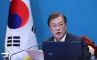 Moon to N. Korea: 'Don't backtrack on agreed-upon peace efforts'