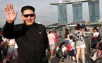 'Kim Jong Un' poses for selfies in Singapore ahead of Trump summit