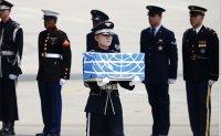 North Korea transfers remains of Korean War soldiers