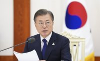 Pyongyang summit deal should be fulfilled, Moon says in anniversary message