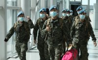 About 200 Korean peacekeepers return home from South Sudan