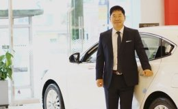 Sim Dong-seob recognized as Kia Motors 'Grand Master' of sales