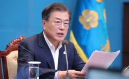 Moon expresses condolences over death of South Korean official