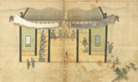 Painting of friendship in Joseon Kingdom