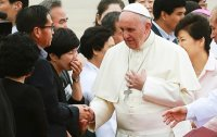 Pope mentions Sewol ferry disaster