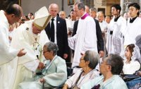 Pope Francis calls for reconciliation between two Koreas