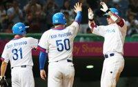 S. Korea beats China to set up rematch for baseball gold