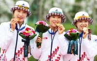 Female archers shine again
