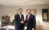 NongHyup Bank CEO boosts overseas biz expansion