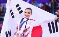 Son crowned as queen of rhythmic gymnastics
