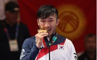 Wrestler wins gold at Asiad, beats trauma