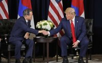 Trump, Moon agree not to seek 'offensive stance' against North Korea