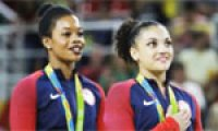 Rio 2016: U.S. gymnast criticized for 'disrespect' during anthem