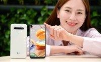 LG Q61 smartphone