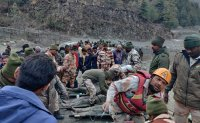 140 people missing after glacier breaks in India's Himalayas