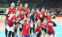 Rio 2016: Korea defeats Japan 3-1 in women's volleyball